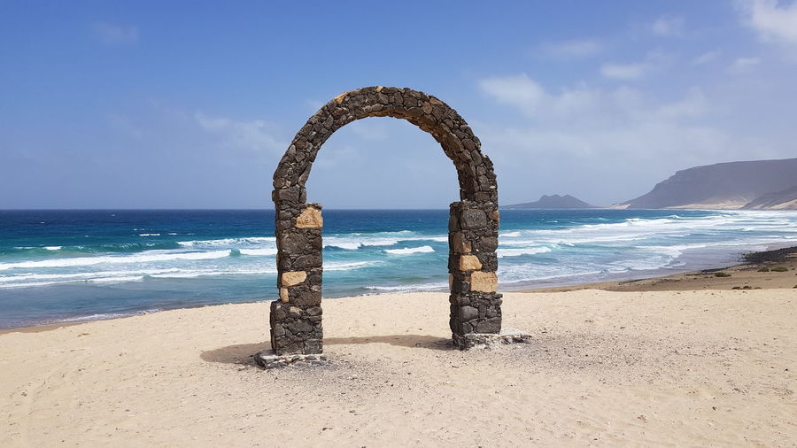 Capeverde Cabo Verde Saovicente Saovicente Travel Vacation Holiday Water Sea Beach Sand Wave Sky