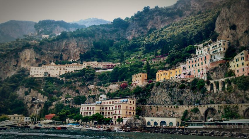 Positano, Italy Italia Italy House On The Hill Harbour Campania
