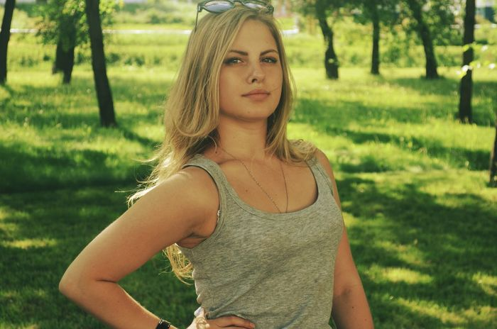 Girl Summer Blonde Girl Enjoying Life That's Me Beauty Blondie Relaxing Me Smile