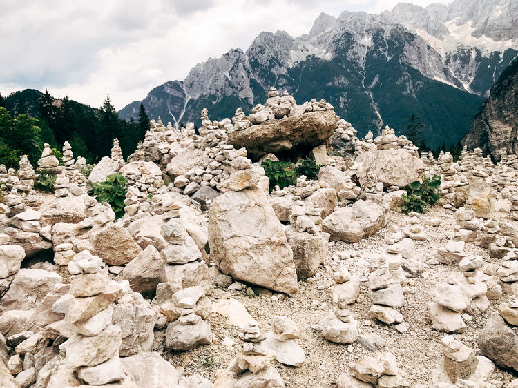 Balkan Roadtrip Beauty In Nature Cloud - Sky Day Environment Eroded Formation Landscape Mountain Mountain Peak Mountain Range Nature No People Non-urban Scene Outdoors Plant Rock Rock - Object Scenics - Nature Sky Solid Tranquil Scene Tranquility Tree