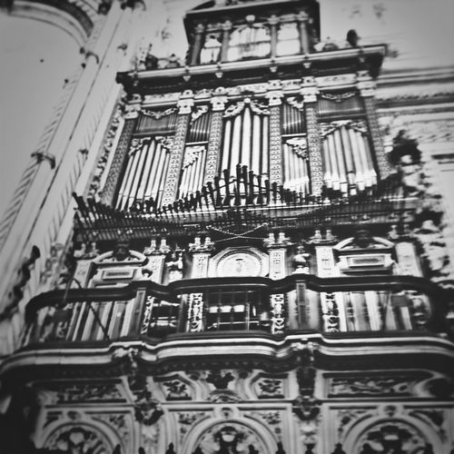 Music Church Baroque. Capa Filter
