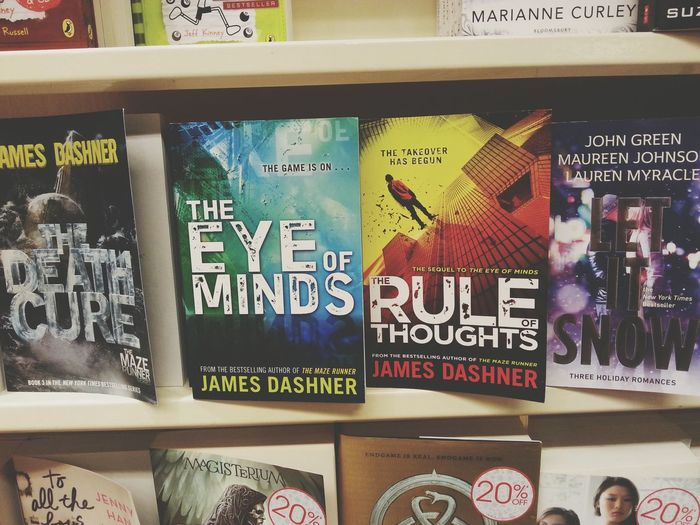 Dashner is killing me with all his works even after The Maze Runner trilogy. // JamesDasher