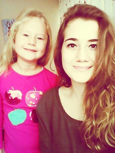 Sister ❤ Goodmorning :) Retrica✌ Happy :)