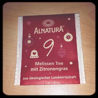 Tee Nummer 9 ist schon wieder eher mein Geschmack! Sehr fein. :) Tea ALNATURA