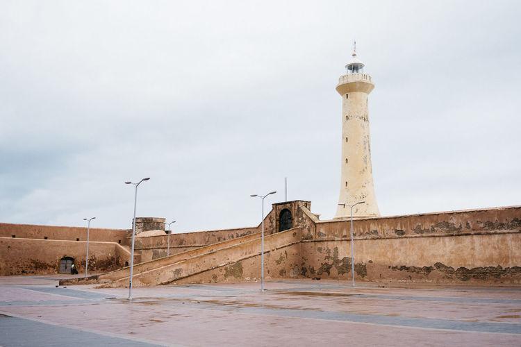 Lighthouse Morocco Rabat Rainy Days