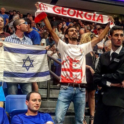 Stadium Sport Eurobasket Eurobasket2017 Crowd Basketball Georgia Israel Cheerleading