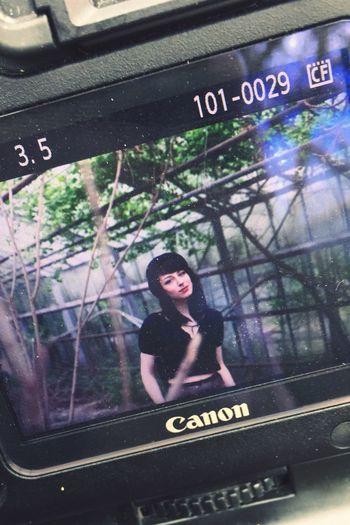 TeamCanon Greenhouse Portrait