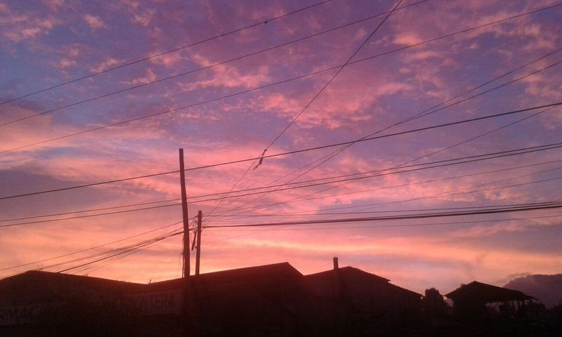 Beutiful San Marcos sunset Sunset Sky Outdoors Nature My Year My View December Days  December Sky Today's Pic Quetzaltenango December 2016 Sunsetlover Sunset_collection Amazing View Love ♥