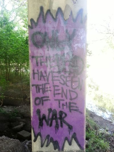 What We Revolt Against Graffiti is Creative Expession in Spray Paint Symbols Colors Lines And Shapes Tagging Expressional Art Hear My Art Zoning Secret Codes Good And Bad War Aftermath