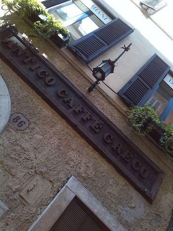 Via Condotti Hello World Streetphotography Caffè Greco Rome