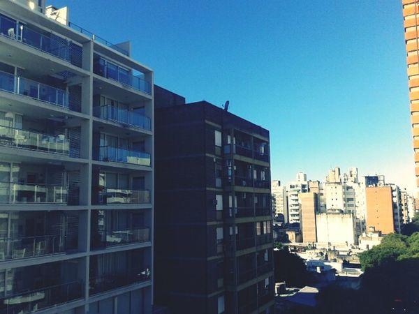 Sky Building Rosario City High Altitude