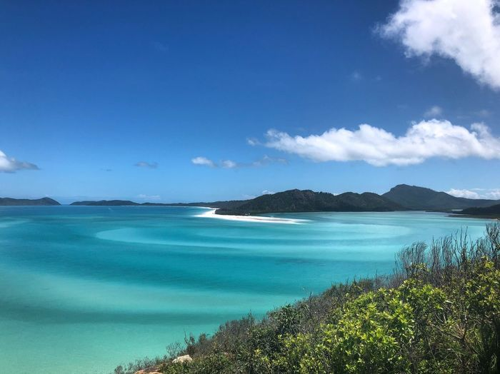 My Paradise Whitehaven Beach Beauty In Nature Scenics Blue Sea Tranquil Scene Tranquility Nature Water Sky Outdoors No People Day Beach Horizon Over Water