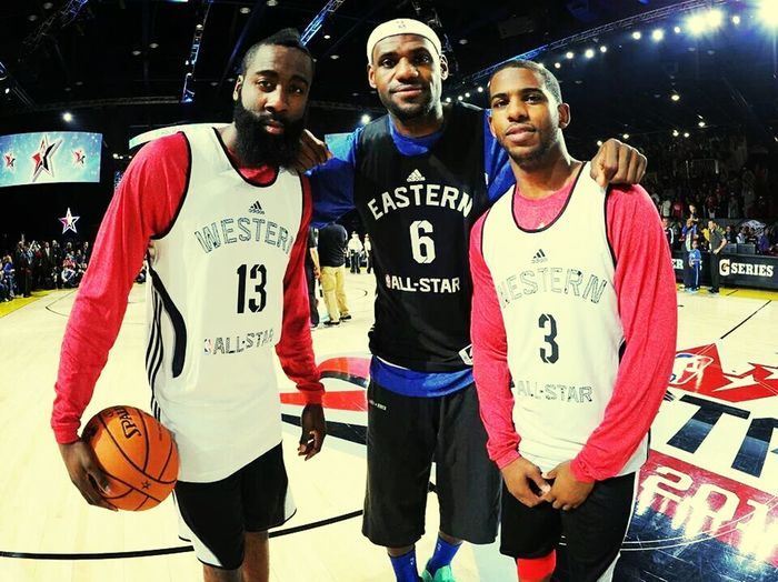 James Harden #Rockets Lebronjames Cp3 Allstars2014