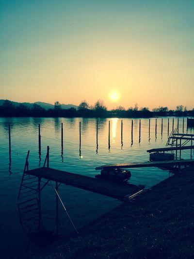Perspectives On Nature Water Sunset Nature Austria Lake Sun Sunlight
