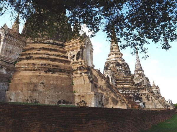 Temple Signature Old Buildings Thailand Olympus Omdem10markII