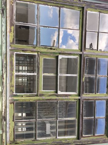 Window.. Window Architecture Day Building Exterior No People Built Structure Outdoors Sky Close-up Vintage Style Heritage Building