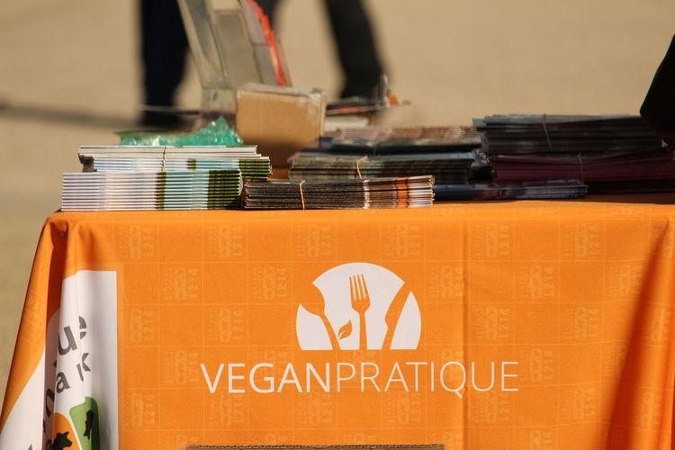 Vegan Manifestation in Chartres, France Publication EyEmNewHere Vegan VEGANLIFE Manifestation Text Close-up Information Settlement