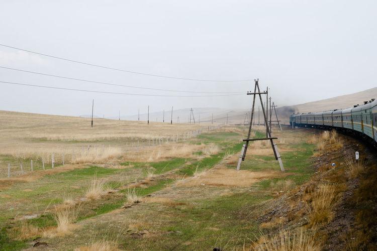 Trans Siberian Rail Mongolia Railway Train Trans Siberian Transsiberian