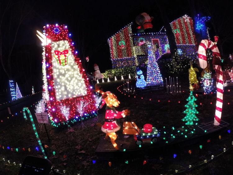 """Biggest Chicken west of the """"The Big Chicken."""" X-mas Decoration Christmas Lights Marietta Big Chicken"""