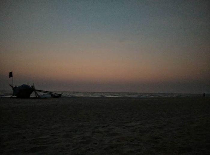 Evenings like this..👌👌👍👍 Outings  Picoftheday Intaedit Likeforlike Followme Doubletap Goa Goan Instabeach Sunset Beautiful Make A Wish