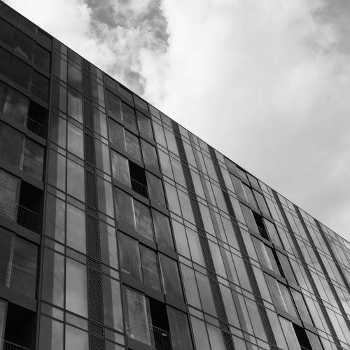 Hartley House, Bermondsey, London, England Architecture Black & White Britain City Exterior KINGDOM London B&w Bermondsey Black Black-and-white Building England English Hartley House Outdoors Sky Uk United Urban White
