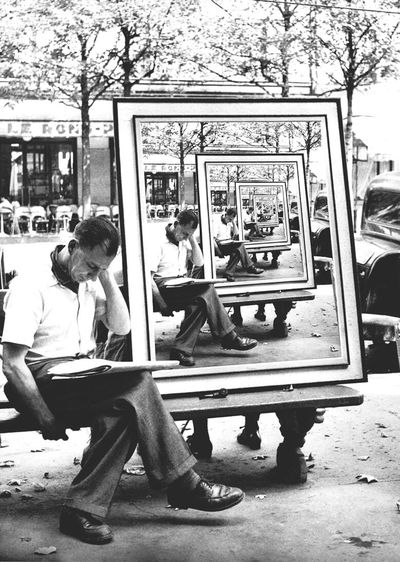 Paint Dimension Picture Reflection Art