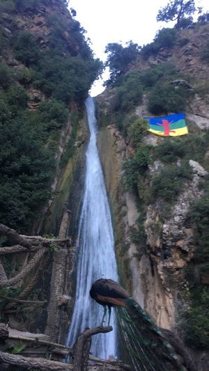 Beauty In Nature Cascade Algeria Beautiful Flag Of Kabylie