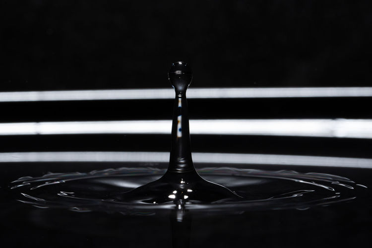 Close-up of water drop on surface
