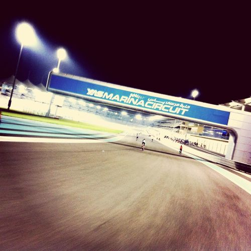 Abudhabi YasMarinaCircuit Cycling UAE Racetrack