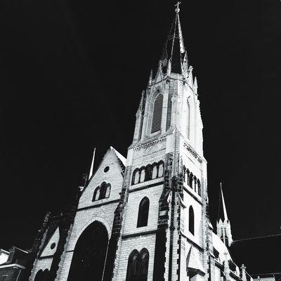 A stark reality Church AMPt_community Blackandwhite St. Louis, MO