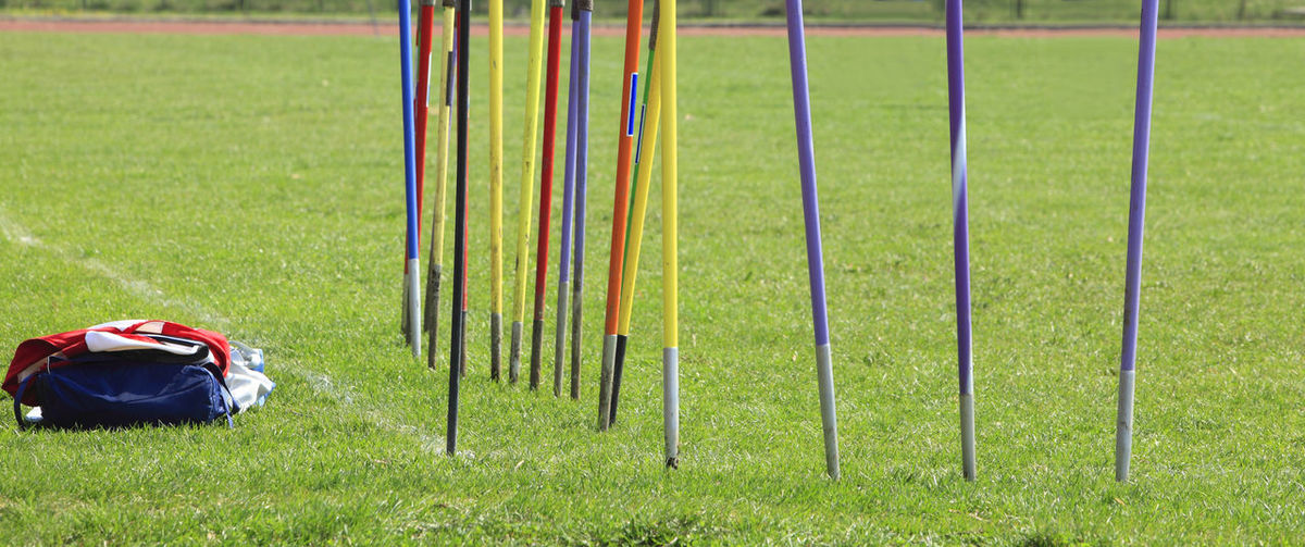 Javelins Athletics Green Abstract Athleticism Background Colorful Competition Grass Javelin Javelins No People Outdoors Sport Sport Abstract Sports
