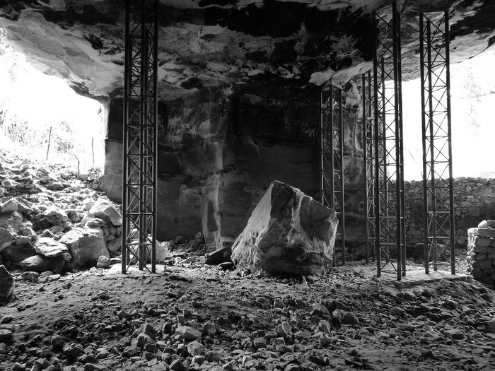 Stone No People Indoors  Destruction Day Nature Stones Blackandwhite Backgrounds Walking Ragusa Ragusa Ibla, Sicily Ragusa - Scorcio Italiano Cava Black And White Friday The Graphic City