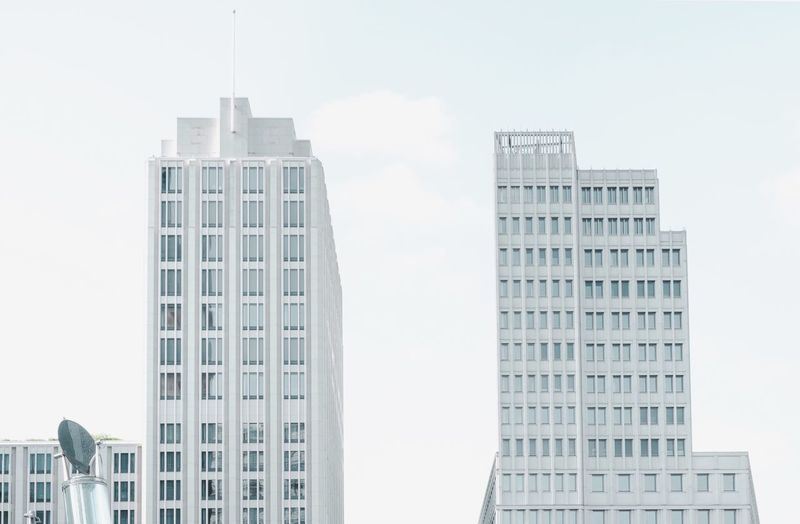 - A = ARCHITECTURE - The Architect - 2018 EyeEm Awards Check This Out! Modern Architecture Modern Living Architecture Berlin Photography Modern Architecture Building Exterior Built Structure Architecture Building City Sky Tall - High Office Building Exterior Low Angle View Modern Day Office Skyscraper No People Window Tower Outdoors Cloud - Sky