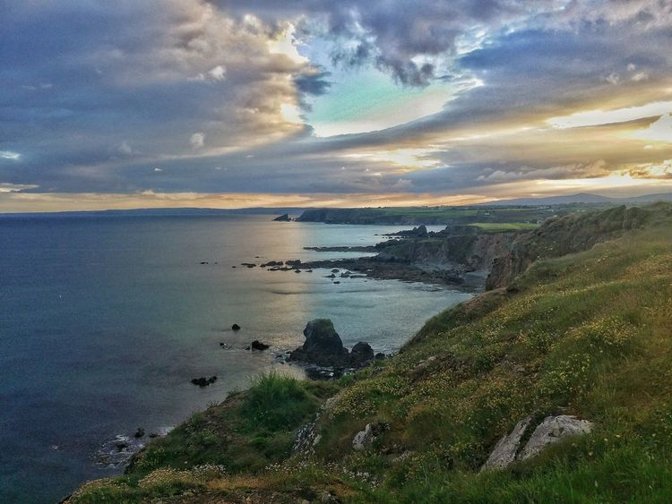 Relaxing Nature Sky Landscape Green Taking Photos Enjoying Life Clouds And Sky Photography High Hello World Calm Hi! Check This Out Ontopoftheworld Green Color Blue Lithuanianboy Blue Sky Ireland Ireland🍀 Waterford