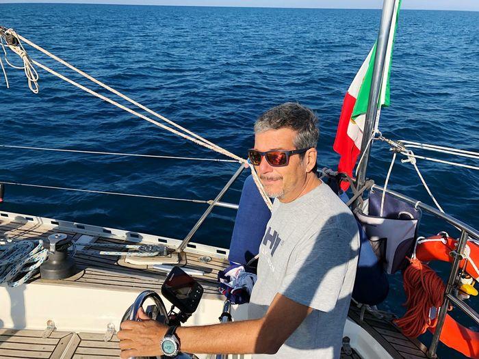 Sea Nautical Vessel Water Mode Of Transportation Transportation Men EyeEmNewHere