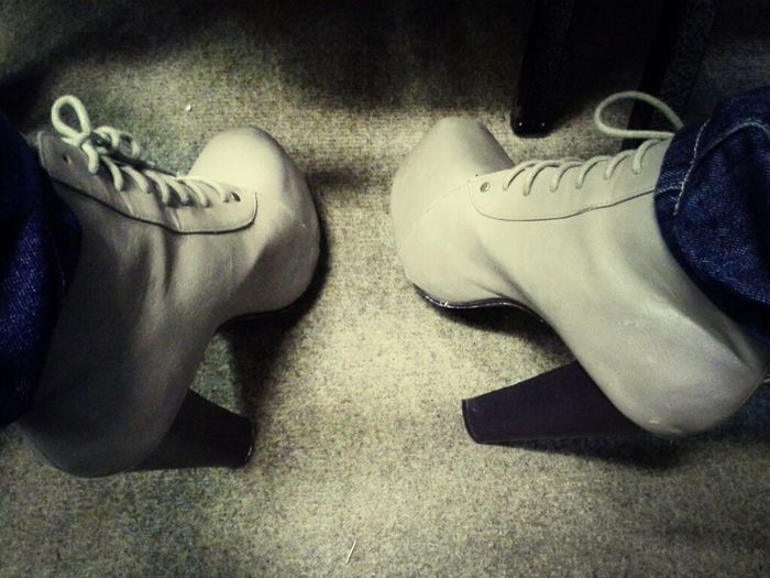 Footwear For Tonight.