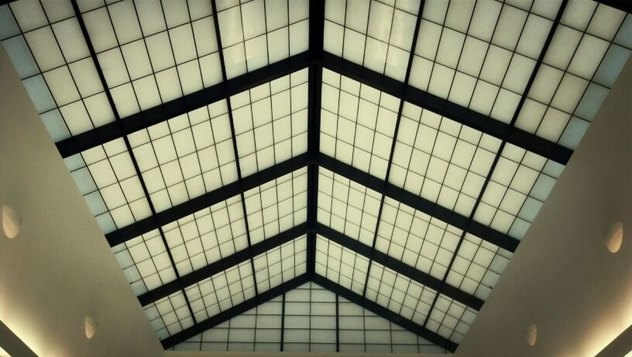 Meeting Lines Skylight Geometric Abstraction Lookingup