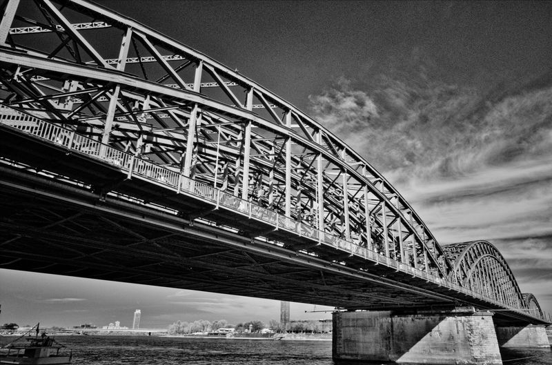 RePicture Travel Architecture Architecture_bw Steel Bridge
