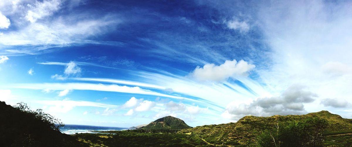 Hawaii Showcase: December EyeEm Eye4photography  Morning Sky Sky Panorama Scenics Clouds And Sky Cloudy Sky