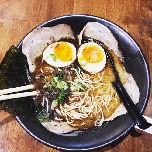 Ramen😋 Food Ready-to-eat Food And Drink Healthy Eating Freshness Egg Wellbeing EyeEmNewHere