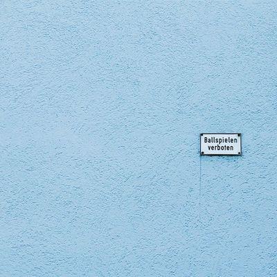 Ballspiele verboten Classicgermany Passau Street Sign Vscocam