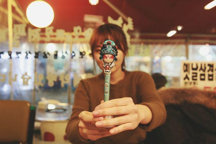 Souvenior for Friend Chinese Pen in Seoul Korea