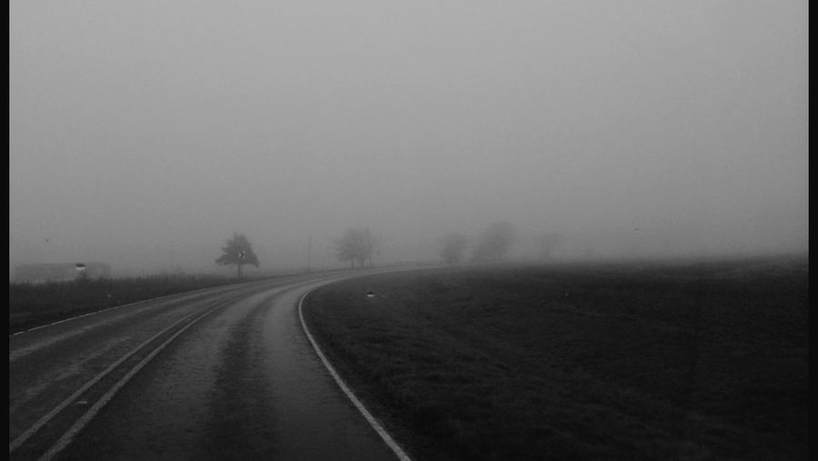 I was in a Fog