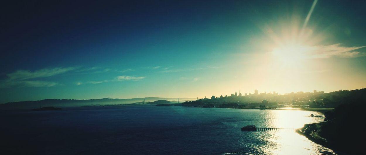 Skyline at morning