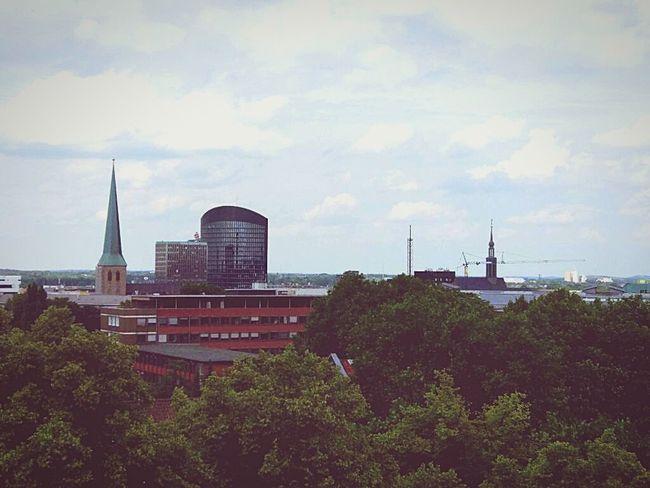 Über den Dächern Dortmunds City Skyline Dortmunder_U Dortmund First Eyeem Photo