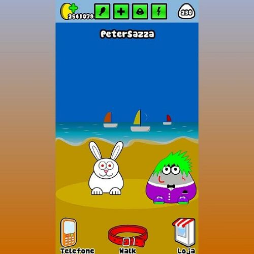 Pou new Hairstyle 1.4.27 AndroidSquare Game Android