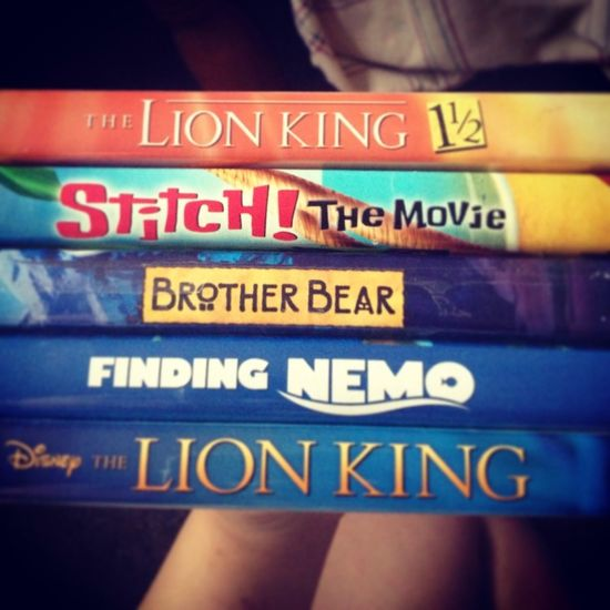 Disney movie day.