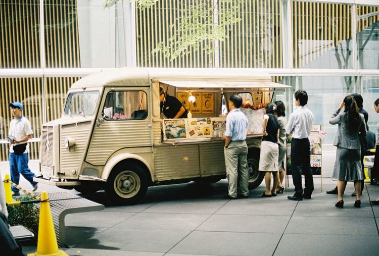 Everyday Lives Kodak Portra 35mm Film Film Streetphotography Tokyo Great Food Truck