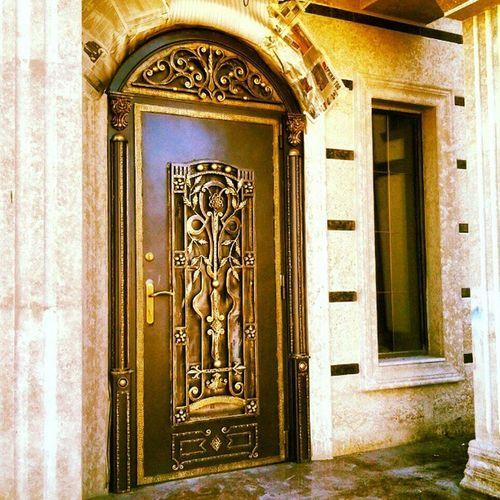 И еще двери по моему эскизу) дверь ковка кованое Ironwork