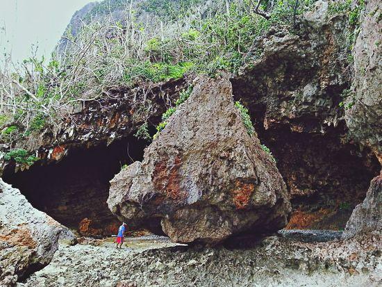 by the Boroboro Cave, Calico-an Island, eastern samar Caves Eye4photography  Nature Rocks brenontheroad idreamedofthis justonewayticket travel solitaryTravelerGeometric Shapes